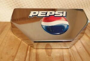 Pepsi - Bar drink dispenser holder - Home bar/Pepsi collectable - chrome display