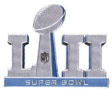 Super Bowl LII Logo Patch New England Patriots Philadelphia Eagles NFL Football