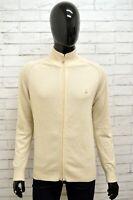 Maglione Uomo TRUSSARDI T-SPACE Taglia S Felpa Pullover Sweater Man Lana Bianco