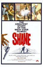 RARE 16mm Feature: SHANE (ALAN LADD / JEAN ARTHUR / VAN HEFLIN) WESTERN CLASSIC