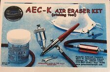 PAASCHE AIR ERASER KIT Airbrush with 3lb 7oz compound included