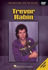Trevor Rabin Instructional Dvd for Guitar Instructional Guitar Dvd New 000320640