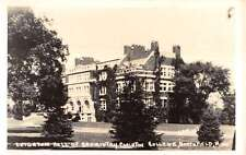 Northfield Minnesota Leighton Hall College Real Photo Antique Postcard K21656