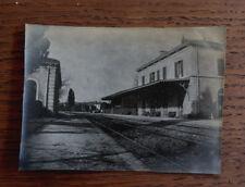 Photographie ancienne 1905 Gare de St Cyr Var Provence