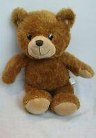 "RUSS BERRIE Applause BROWN TEDDY BEAR Plush Toy 2010 Stuffed Animal 14"" CORDUROY"