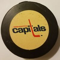 vintage WASHINGTON CAPITALS  cooper hockey NHL approved puck canada SCARCE