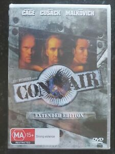 Con Air EXTENDED EDITION (Region 4 DVD) Brand New & Sealed, FREE Next Day Post