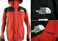 Vintage 90s The North Face Gore-Tex Nylon Mountain Jacket sz M Blk & Red