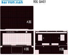 """Carbon fiber Laptop Sticker Decal Skin Cover for ASUS ROG Zephyrus G14 GA401 14"""""""