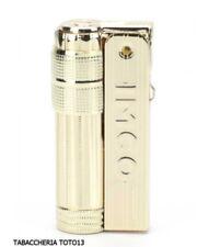 Imco Super Triplex golden petrol lighter with logo