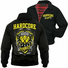 Harrington Jacke Hardcore Respect 8 ball fist cry hate haters Crew Pride Honor