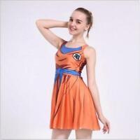 Women pleated Dress Letter& Cartoon printed dress sleeveless dress S-4XL