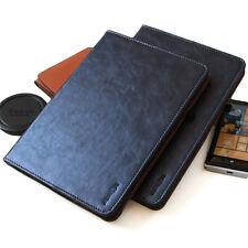 """Cover für Samsung Galaxy Tab S2 9,7"""" Leder Schutz Hülle Tasche Smart Case blau"""