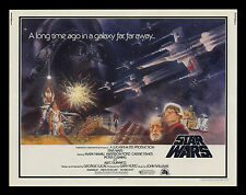 Star Wars VERY RARE INTERNATIONAL 1977 PRE-RELEASE 22x28 1/2-Sheet MOVIE POSTER!