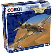 Nueva escala 1:72 Corgi Curtiss Tomahawk Mk. IIb 'AK402' Modelo Diecast