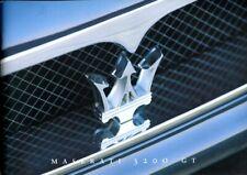 Maserati 3200GT 1998-99 Italian text sales brochure