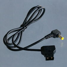 D-tap to DC Power Elbow 5.5/2.5mm 12v 3A 3' Adapter Cable for BMCC BMPC DSLR Rig