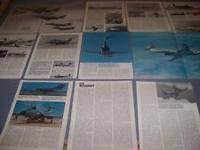 VINTAGE..MCDONNELL F-101 VOODOO...HISTORY/PHOTOS/DETAILS...RARE! (147D)