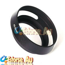 40.5mm Metal Lens Hood For Sony A6000 E PZ 16-50mm Lens