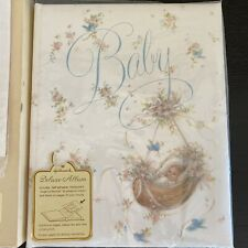 Hallmark Vintage Baby Memory Book Deluxe Album New With Box