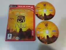 IMMORTAL CITIES LOS NIÑOS DEL NILO JUEGO PC 2 X CD-ROM ESPAÑOL ATARI