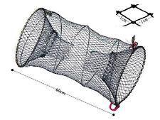 Foldable Crab Fish Crawdad Shrimp Minnow Fishing Bait Trap Cast Dip Net Cage To