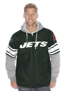 "New York Jets NFL G-III 2014 ""1 on 1"" Jersey Full Zip Premium Jacket"