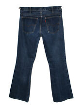 LEVIS LVC BIG E 1966 BELL BOTTOMS MEDIUM STONEWASH BLUE DENIM JEANS W31 L32