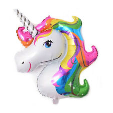 Rainbow Unicorn Shape Foil Balloon Air Mylar Ballons Party Christmas Decoration