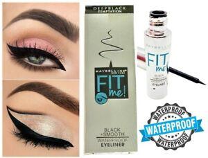 Maybelline Waterproof Sweat proof Liquid Black Eyeliner Long-lasting FIT ME!