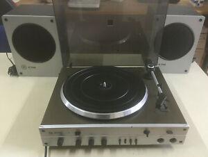 RFT PA 2030 Plattenspieler inklusive 2 Lautsprecher B 7186 DDR retro Nostalgie