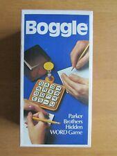 Vintage Boggle Parker Games