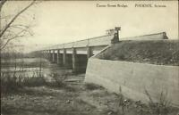 Phoenix AZ Center St. Bridge c1910 Albertype Postcard