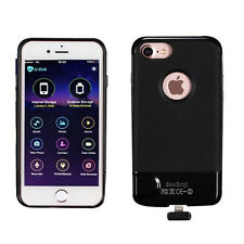 SanErqi Wireless Shakeproof Memory Expansion Phone Case for iPhone 6/6S/7 Black