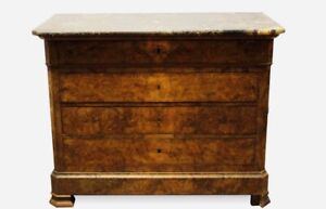 BEAUTIFUL 19th CENTURY FRENCH MARBLE COMMODE