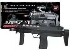 Nuevo Ejército Militar Rifle de asalto armas/MP7A1 con luces láser y sonido Niños Juguete