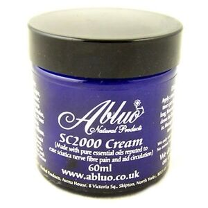 Natural Sciatica SC2000 Cream reduce painful inflammation by Abluo