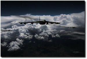 Super Cell by Peter Chilelli - Boeing B-52 Stratofortress - Aviation Art Print