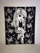 Vintage Lisa Frank Velvet Folder Sunshine The Butterfly Girl Never Used