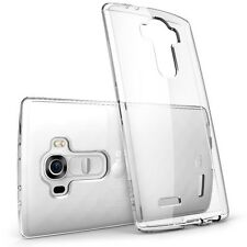 Clear Transparent TPU Rubber Gel Back Case Cover For Various LG Mobile Phones