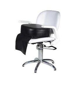 pouf rehausseur  pour fauteuil coiffure ou esthétique épaisseur 15 cm