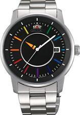 ORIENT watch WV0761ER Standard STYLISH & SMART DISK Rainbow * Japan new