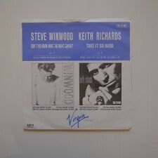 "KEITH RICHARDS - Take it so hard - 1988 JAPAN 7"" SINGLE PROMO"