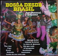 JOAO RAVENAL Y ORQUESTA BOSSA DESDE BRASIL SPAIN PRESS LP