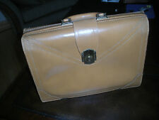 VINTAGE DOPP CHICAGO MELLOW TOUCH TOP GRAIN COWHIDE LEATHER DOCTOR BAG BRIEFCASE