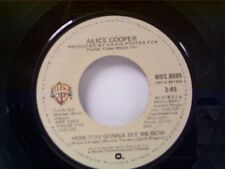 """ALICE COOPER """"HOW YOU GONNA SEE ME NOW / NO TRICKS"""" 45"""