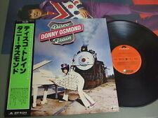 DONNY OSMOND Japan LP with OBI, DISCO TRAIN