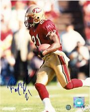 R.W. MCQUARTERS SAN FRANCISCO 49ERS SIGNED 8X10 PHOTO