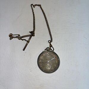 Antique 1928 Elgin Grade 479 Model 4 12s 17J 14k Gold Filled Pocket Watch