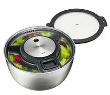 GEFU Salatschleuder SPEEDWING + Frischhaltedeckel | Salat Schleuder Salatschale